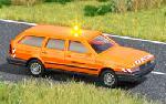 Busch VW Passat Wegenbouw met Verlichting  H0