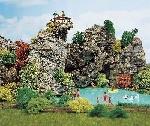 Busch Sierkurk rotsen  H0