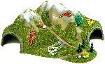 Busch TUNNEL HOEK 2-SPORIG N