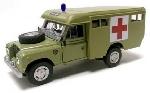 Cararama Land Rover Serie III Ambulance  1:43