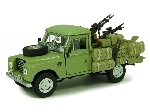 Cararama Land Rover 109 Militare 1:43