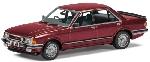 Corgi Ford Granada MkII 208 Ghia  Rood 1:43