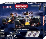"Carrera ""Flying Finish "" Red Bull F1 Cars Go"