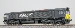 Esu Diesellok Class 66  MRCE DE 6616 Zwart Ho