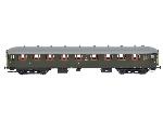 Exact Train NS Personenrijtuig AB7535 Groen Grijs dak