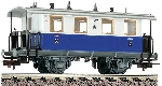 Fleischmann 2e Kl Personenwagon Privebahn Edelweis