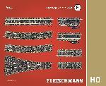 Fleischmann Dreiwegweichen-Set