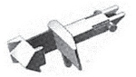 Fleischmann Standard-Steckkupplung, 10 Stk.
