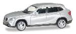 Herpa BMW X1 Zilver Met.   1:87