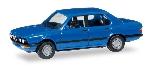 Herpa BMW 528i Blauw 1:87