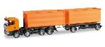 Herpa Scania R HZ Oranje 1:87
