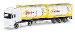 Herpa DAF XF Tankcontainer -Sattelzug Eurotaine