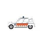 Herpa Renault R4 Politie NL