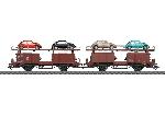 Marklin Paar Autotransporters Off 59
