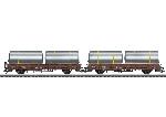 Marklin Rongenwagen set met Biertanks DB