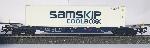 Marklin NS Containerdraagwagen Sgnns 60 met 45 ft. Container - Samskip  Coolbox