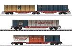 Marklin Set Containerwagens DB
