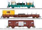Marklin Set 3 dienstwagens voor SNCB serie 55
