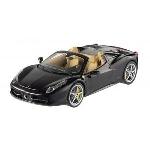 Mattel Ferrari 458 Spider Zwart 1:18