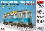 MiniArt Tram 641 met machinist en passagiers bouwkit 1:35