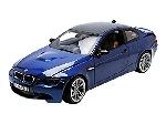 Motormax BMW M3 Coupe 2005 Blauw 1:18