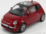 Motormax Fiat Nuova 500 Rood 1:18