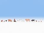 Noch Tiere auf dem Bauernhof