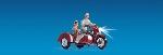 Noch Motorfiets met zijspan en licht