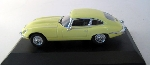 Oxford Jaguar E Type V12 Yellow 1:43