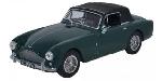 Oxford Aston Martin DBII MK DHC  Groen 1:43