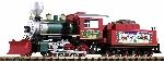 Piko G-Dampflokomotive mit Tender Mogul Christmas, Sound