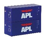 Piko TT-Container-Set 2 x 20' APL
