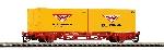 Piko TT-Containertrgwg. 2x20' Wiebe DB AG VI