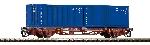Piko TT-Containertrgwg. 2X20' Intrans CD V