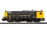 Piko NS Diesellok 2327 Gelijkstroomuitvoering Digitaal Sound