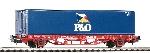 Piko Containertrgwg.DB-Cargo P&O V