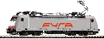 Piko E-Lok BR 186 FYRA grau VI, 4 Pantos