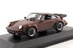 Maxichamps Porsche 911 Turbo 3,3  Bruin 1:43