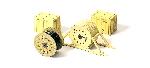 Preiser Kabelhaspels met kisten  H0