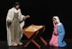 Preiser Maria en jozef met kribbe