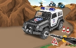 Revell Police Jeep Junior Kit