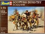 Revell Britse Infanterie 8e leger WW II 1/72