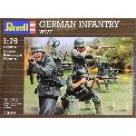 Revell Duitse Infantery WW II  1:72