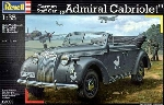 Revell Admiral Cabriolet staff Car