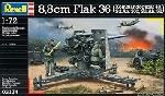 Revell 8,8 cm Flak 36 mit Sd.Ah. 2021:72