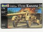 """Revell Deutsche """"17cm Kanone 18""""1:72"""