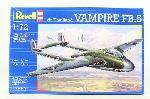 Revell De Haviland Vampire FB,5  1.72