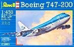 Revell Boeing 747-200  KLM  1:450