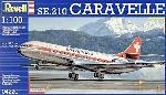 """Revell Caravelle """"Swissair""""1:100"""