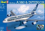 """Revell Airbus A380 """"Visible Interior""""1:144"""